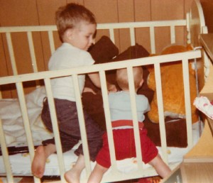 Jeff jess toys in crib march 77