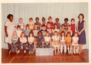 Jessica Kindergarten pic 1982